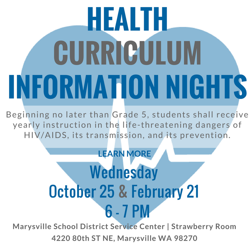 Health Curriculum Information Nights