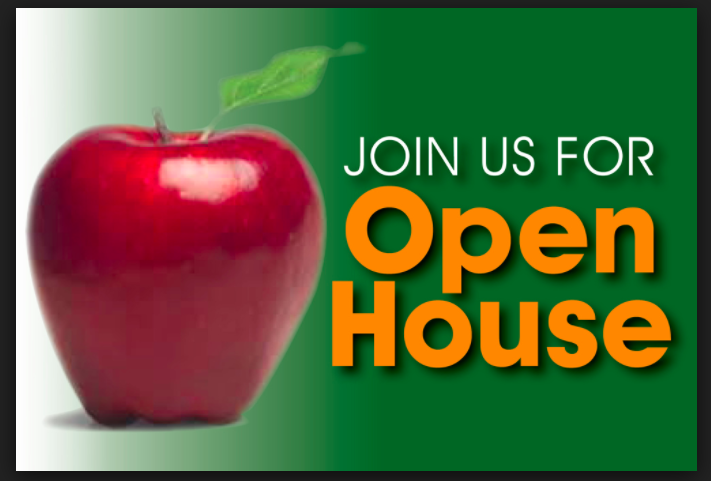 Please join us for Open House night September 27th