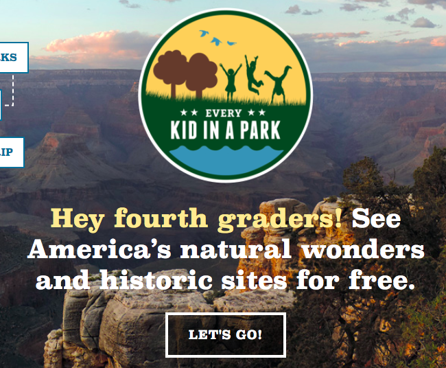 4th Graders get Free Parks and Wildlife access!