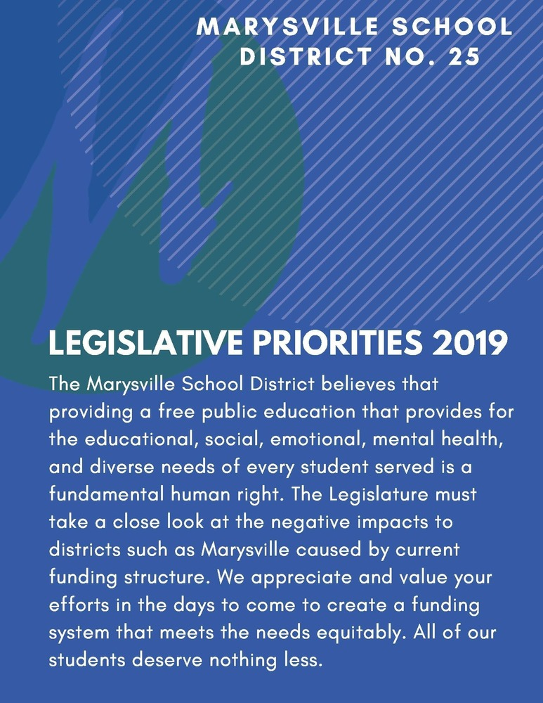 Support MSD Legislative Priorities!