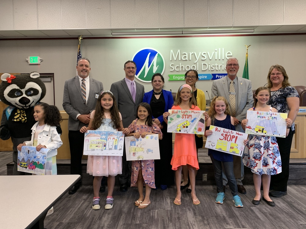 Congratulations to our School Bus Safety Poster Contest Winners! ​