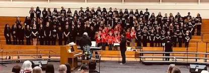 Elementary Schools Partner with Middle School for Choir Performance