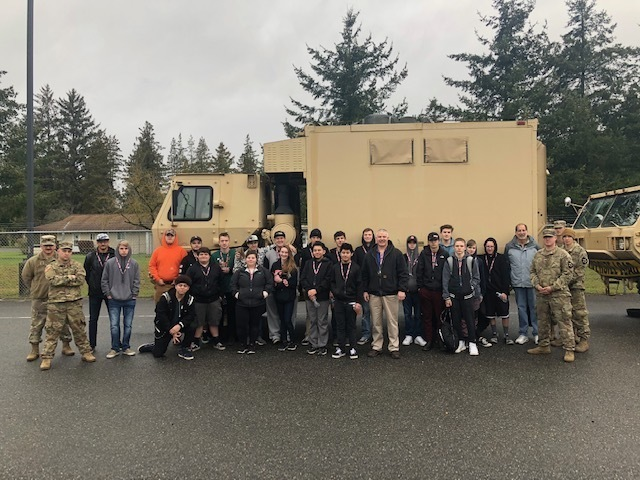 Field Trip to the Washington Army National Guard Maintenance Repair Facility