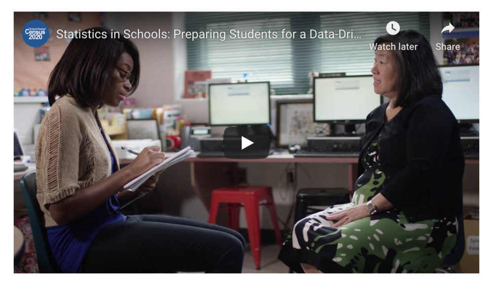 Statistics in Schools: Preparing Students for a Data-Driven World