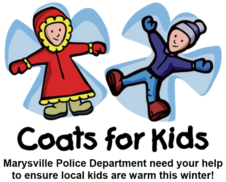 Marysville Police Department Coat Drive