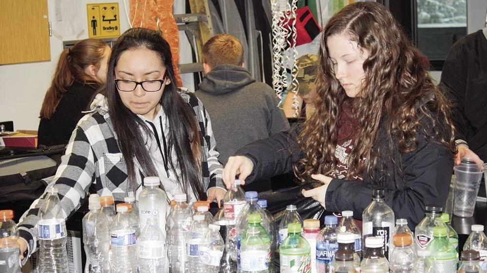 Getchell students working to make school greener