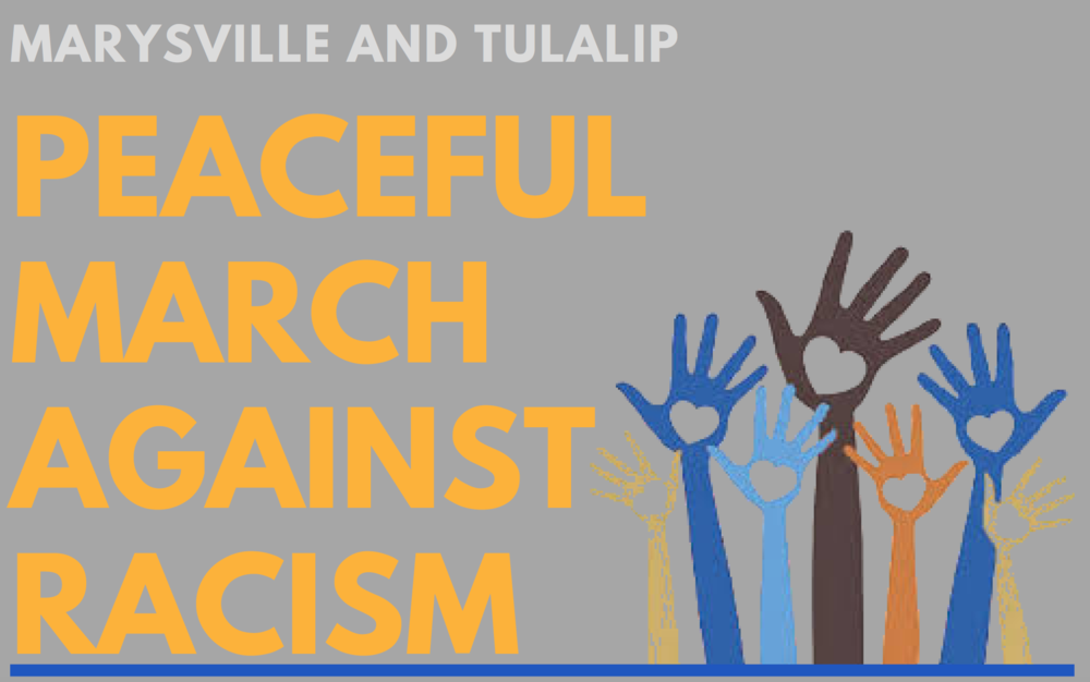 Marysville Tulalip Peaceful March Against Racism, June 11, 2020