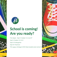 School is coming! Back-to-school Calendar and Guide