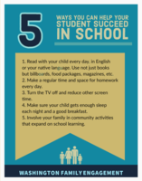 Ways you can help your student succeed in school!