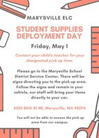 ELC Student Supplies Deployment Day