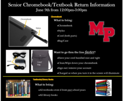 Senior Chromebook and Textbook Returns