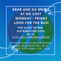 IMPORTANT! Change in meal service to bus delivery model.