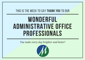 Administrative Professionals Week