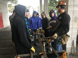 Regional Apprenticeship Pathways students learn from the experts in the trades