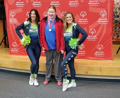 Student Excels at Special Olympics
