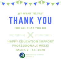 Education Support Professionals Week - March 9 - 13