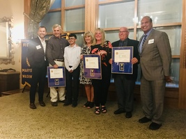 Marysville Rotary Honors Staff and Community Members