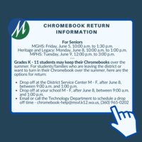 Student Chromebook Return Information