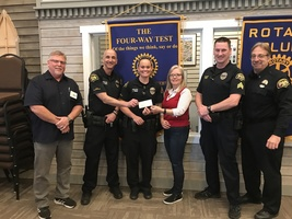 Marysville Police SROs receive balance of Recovery Fund