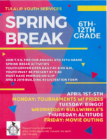 Tulalip Youth Services Spring Break