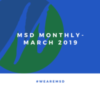 MSD Monthly- March 2019