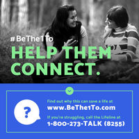 September is National Suicide Prevention Month. Step 4: Help Them Connect