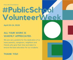 Happy ​Public School Volunteer Week April 20-24, 2020​