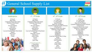 General School Supply List