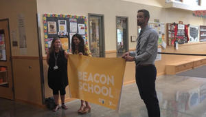 "Grove has been named a ""Beacon School"""