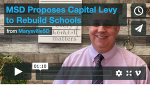 MSD Proposes Capital Levy to Rebuild Schools (Video #1)