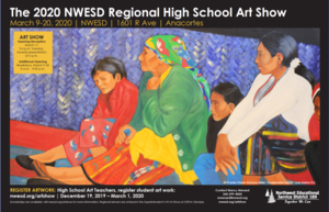 Accepting Student Artwork for the 2020 NWESD High School Art Show