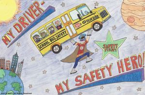 My Driver - My Safety Hero; National School Bus Safety Week