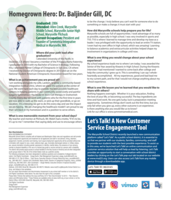 Homegrown Hero, Dr. Baljinder S. Gill, President & Co-Founder Symmetria Integrative Medical