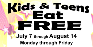 Summer Meal Delivery: Kids and Teens Eat Free