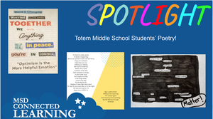 Totem Middle School Student's Poetry