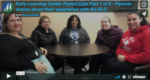Early Learning Center Parent Cafe Parts 1 & 2 - Parents shares about their experience with the ELC and Principal Jennifer Cassarino shares information about the ELC enrollment process