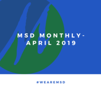 MSD Monthly - April 2019