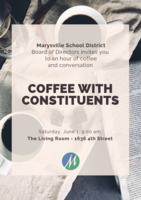 Board of Directors Coffee with Constituents coming June 1