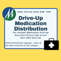 Drive-Up Student Medication Pick-Up