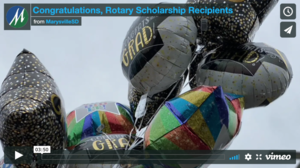 Congratulations, Rotary Scholarship Recipients