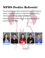 Positive Referral Recipients