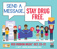 October 23-31 is Red Ribbon Week!