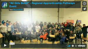 """All Girls Build!"" - Regional Apprenticeship Pathways Event"