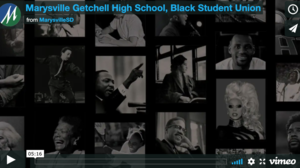 Marysville Getchell High School, Black Student Union