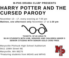 "MPHS Drama Club Presents ""Harry Potter and the Cursed Parody"" Play"