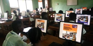 Legacy High School Students Shipped 110 Computers to Axim, Chana