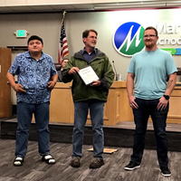 Mr. Zach Prine was recognized by both the City of Marysville and the Marysville School District