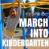 It's almost time to MARCH INTO KINDERGARTEN!