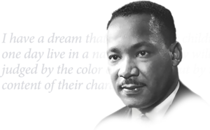 Dr. Martin Luther King, Jr. Day, January 18 - No School