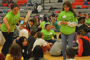 WE'RE ON THE NEWS! 6th-graders find out 'We Belong'